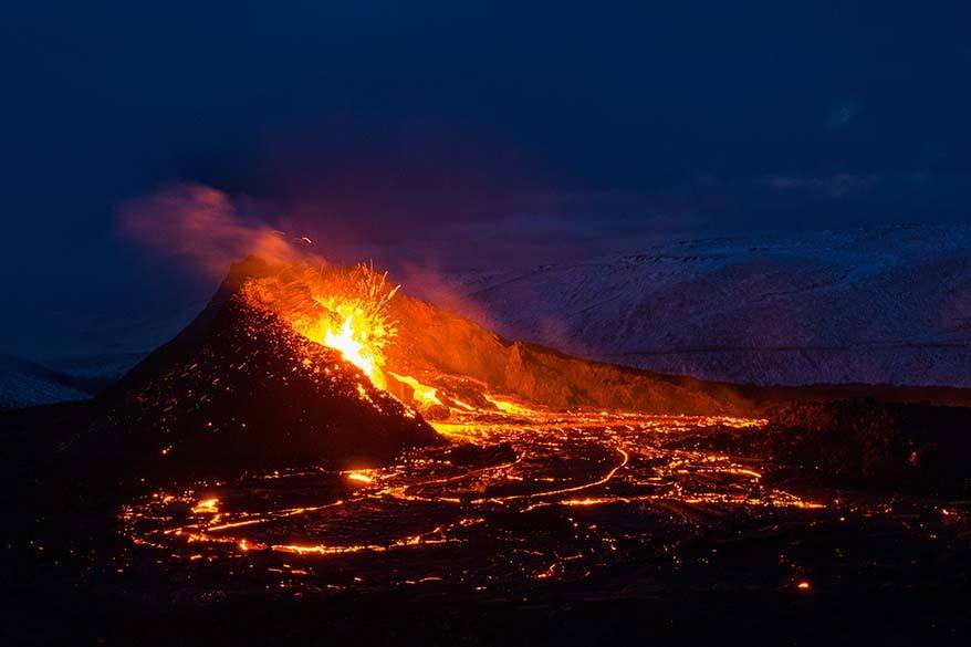 Best things to do in Iceland - Fagradalsfjall volcano