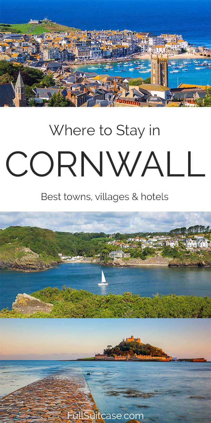 Best towns, hotels, and places to stay in Cornwall in the UK