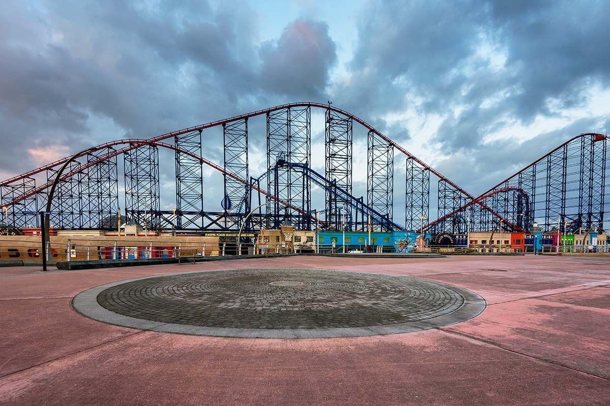 Big One rollercoaster at Blackpool Pleasure Beach