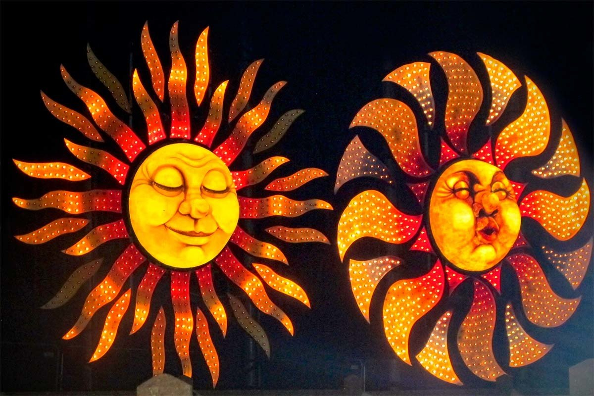 Blackpool attractions - Blackpool Illuminations light show