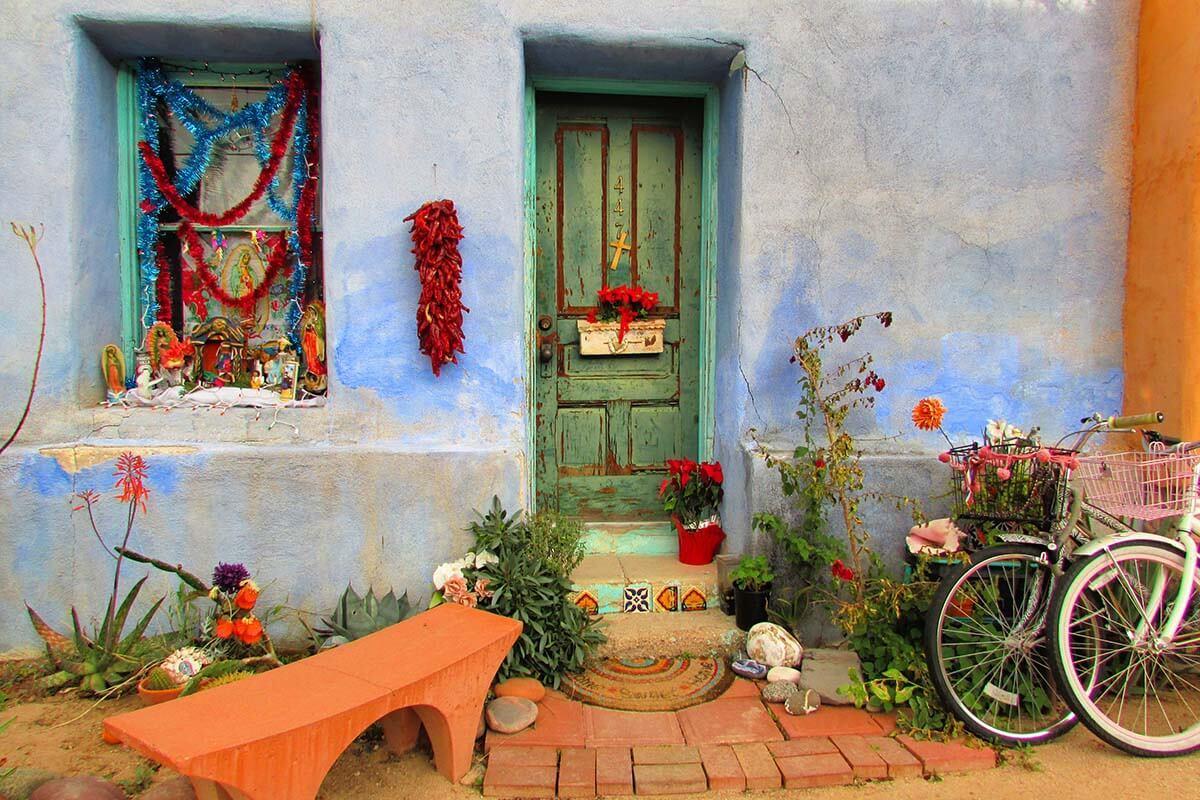 Colorful street in Tucson Arizona
