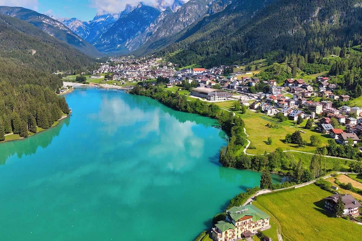 Dolomites best lakes - Lago di Auronzo