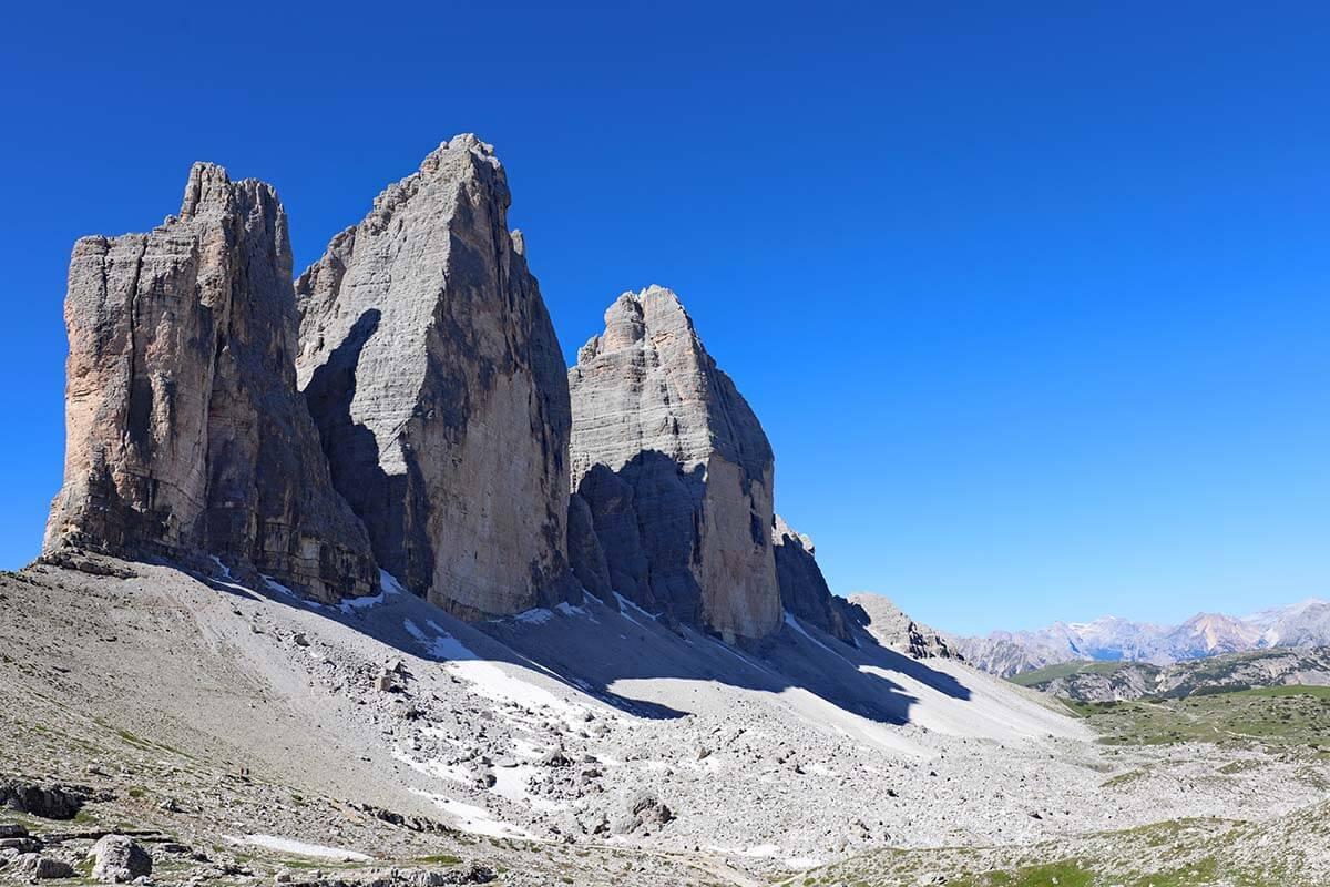 Dolomites best places - Tre Cime di Lavaredo