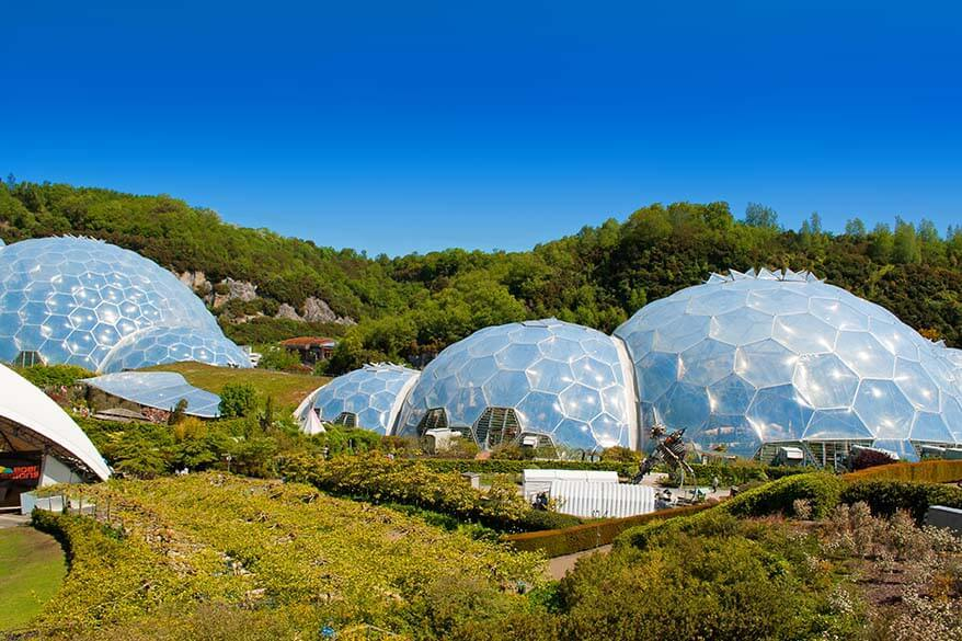 Eden Project is one of the popular Cornwall tourist attractions