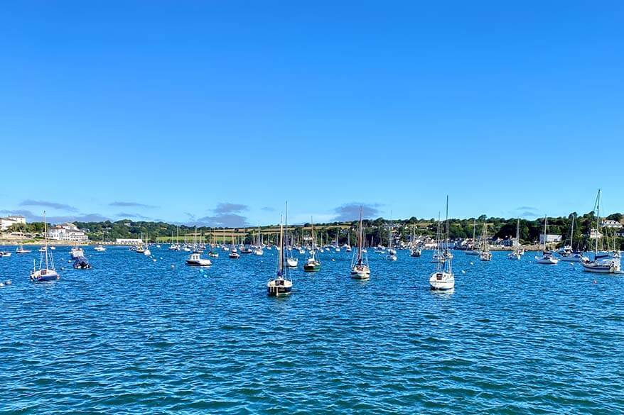 Falmouth is one of the best towns to stay in Cornwall UK