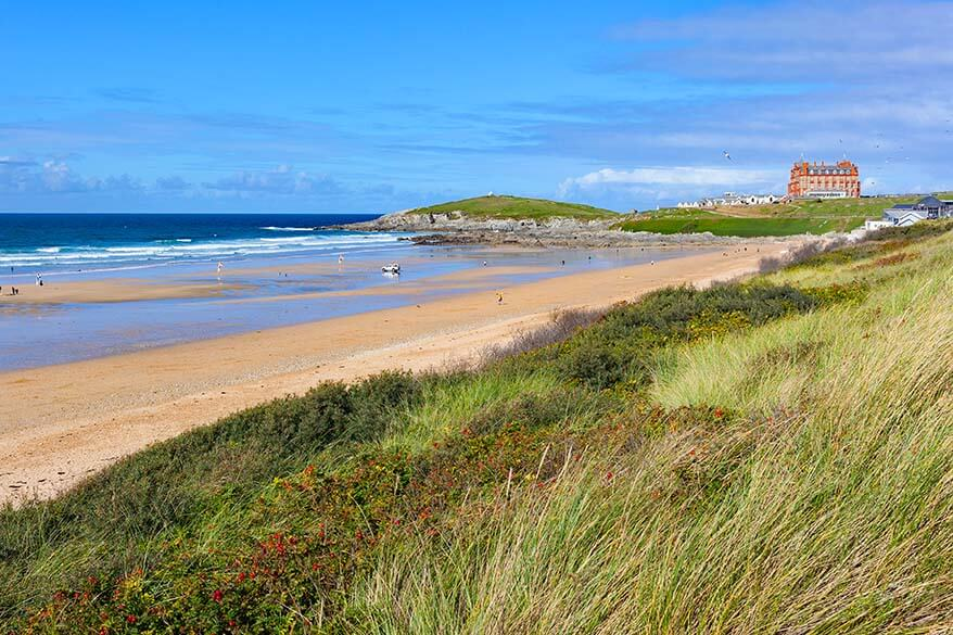 Fistral Beach in Newquay