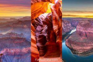 Grand Canyon, Horseshoe Bend, and Antelope Canyon road trip itinerary