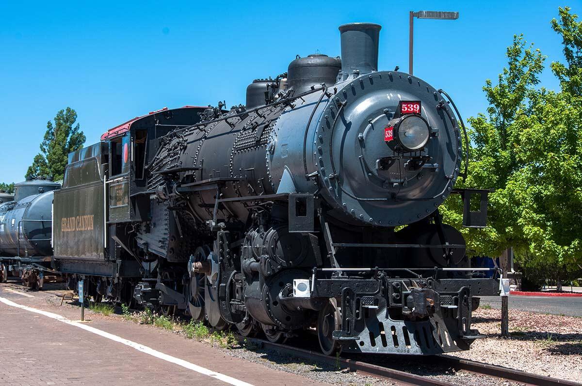 Grand Canyon Railway in Williams Arizona