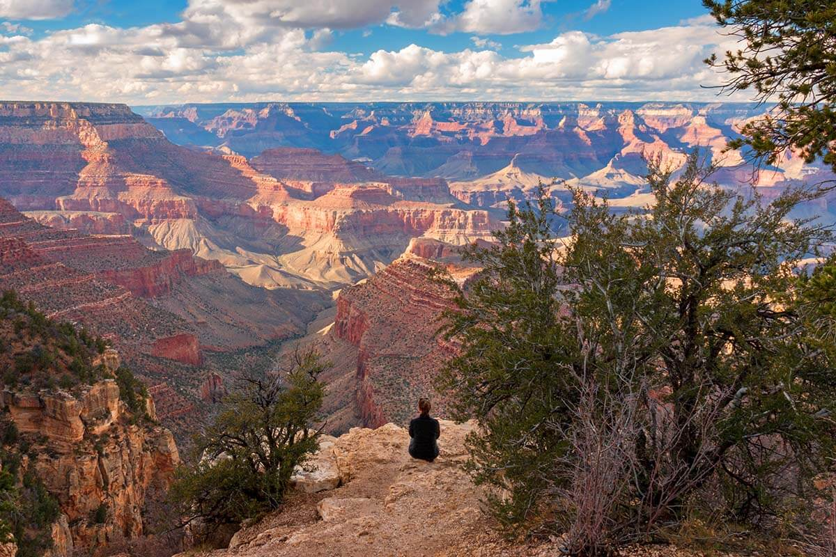 Grandview Point at the Grand Canyon