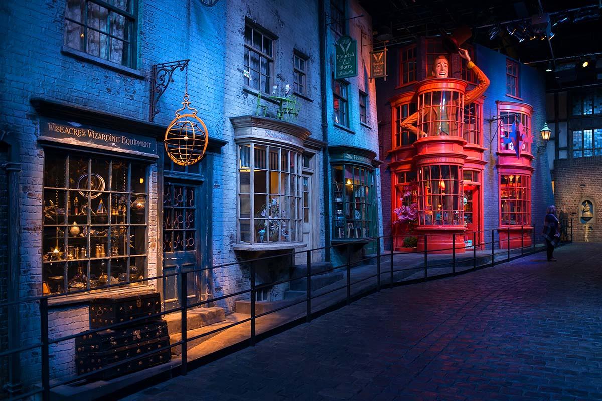 Harry Potter Warner Bros Studio near London
