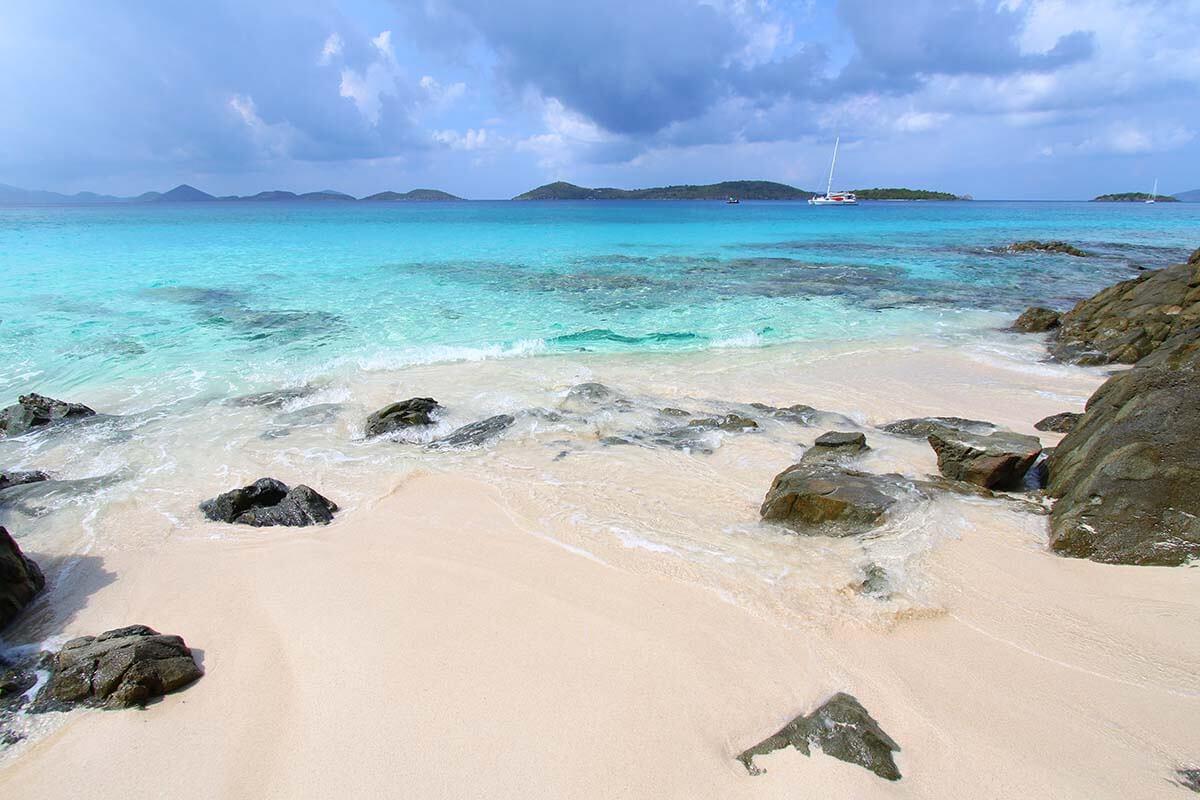 Honeymoon Beach is one of the best beaches in Saint John USVI