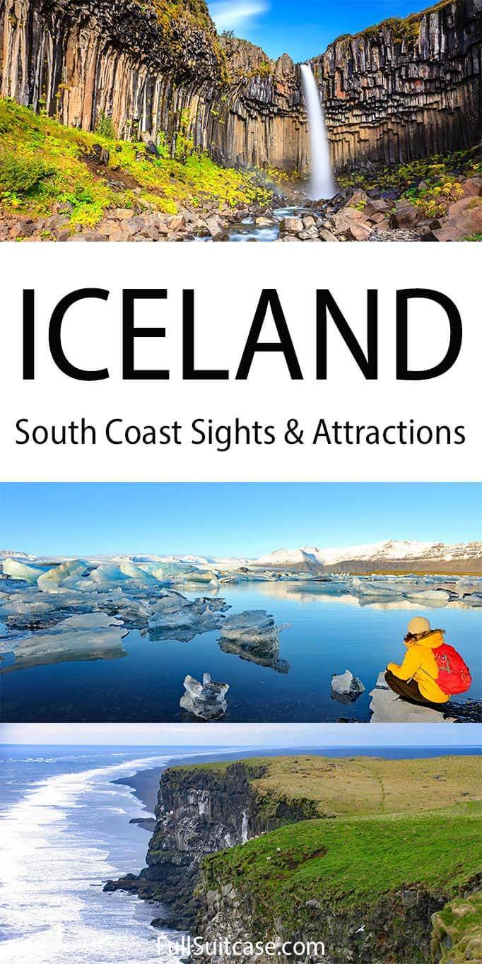 Iceland South Coast attractions and most beautiful places to visit