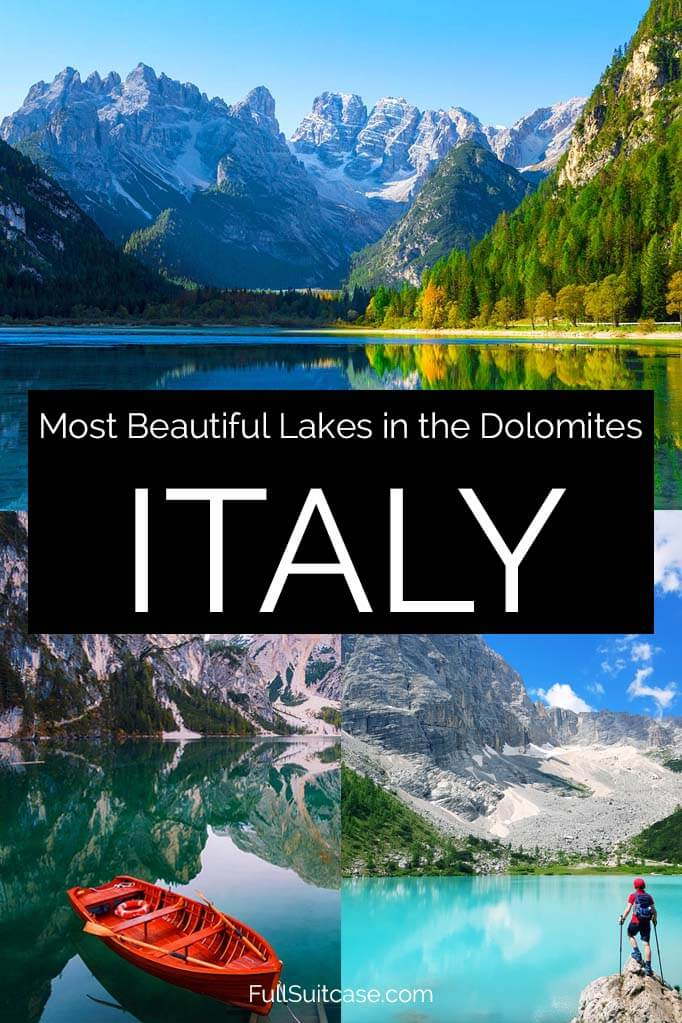 Italian Dolomites best lakes and how to visit them