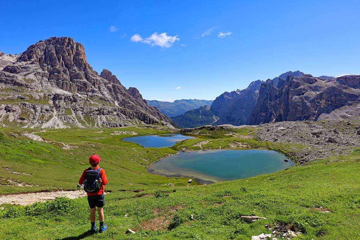 Laghi dei Piani (Bodenseen) in the Dolomites