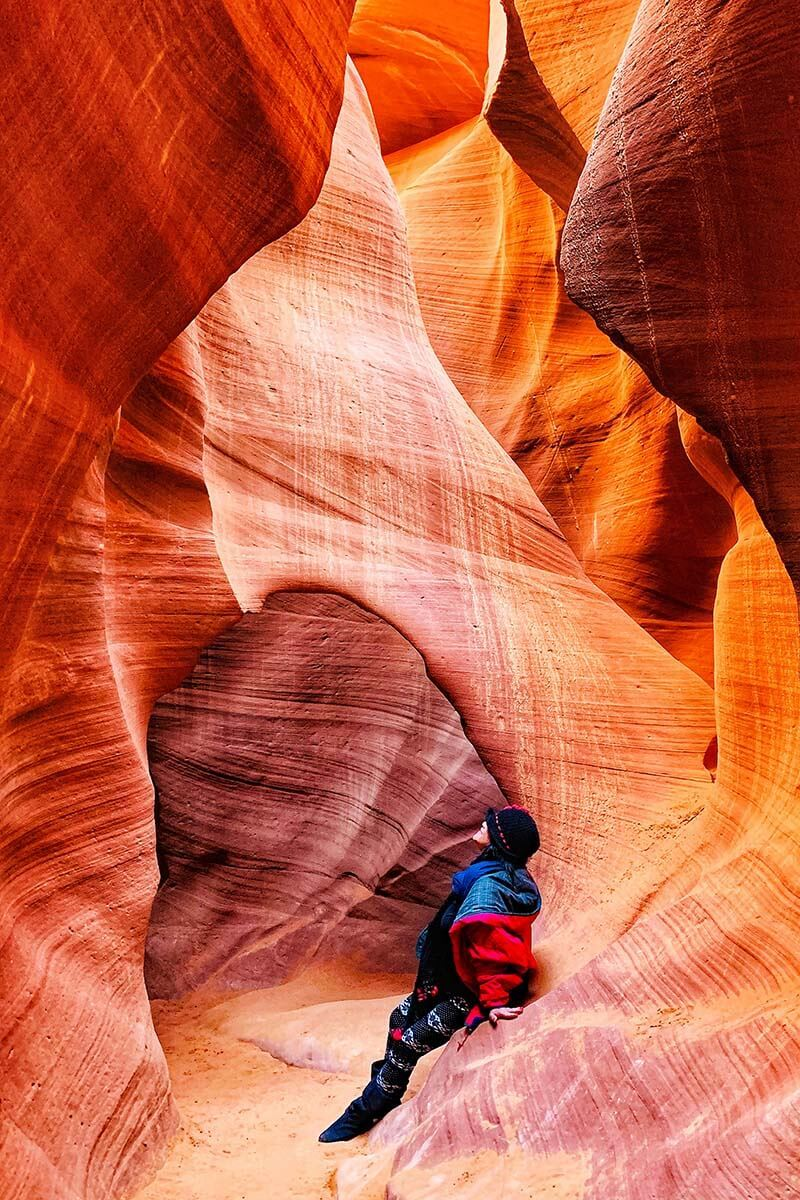 Lower Antelope Canyon in the morning
