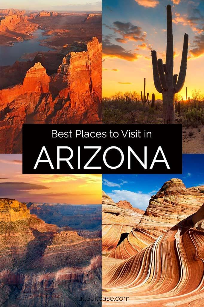 Most beautiful places to visit in Arizona USA