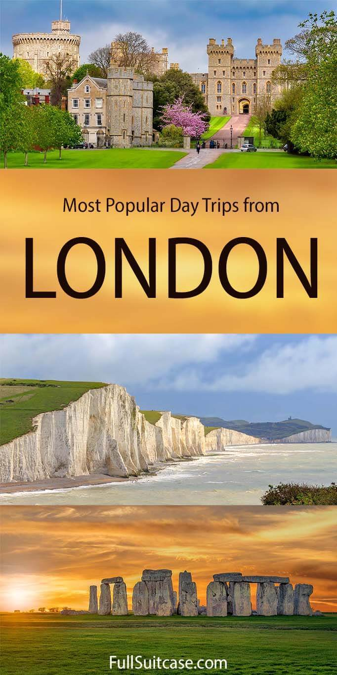 Most popular day trips from London for sightseeing