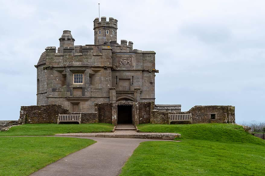 Pendennis Castle in Falmouth UK
