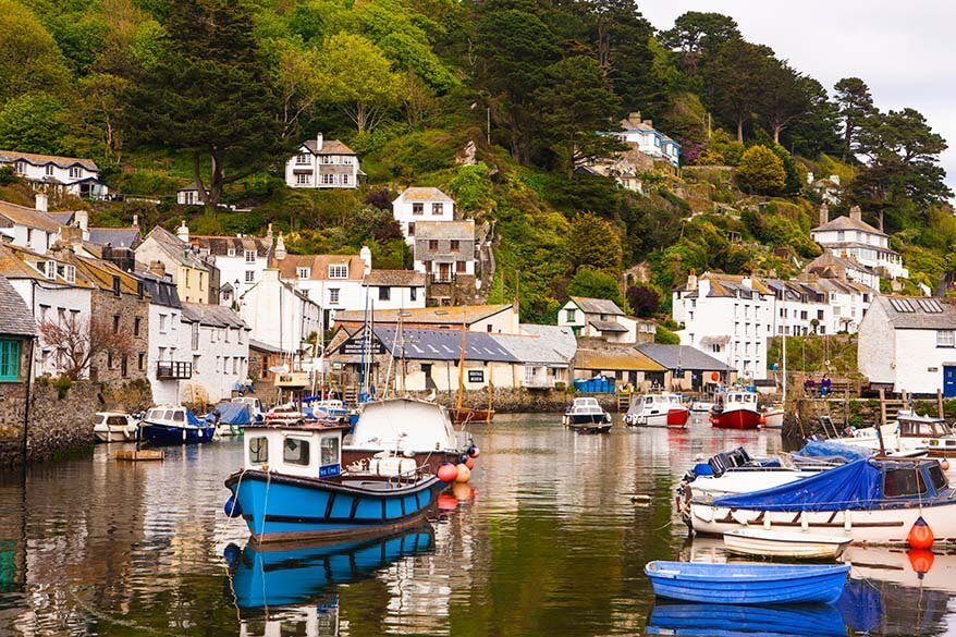 Polperro is one of the most picturesque towns in Cornwall