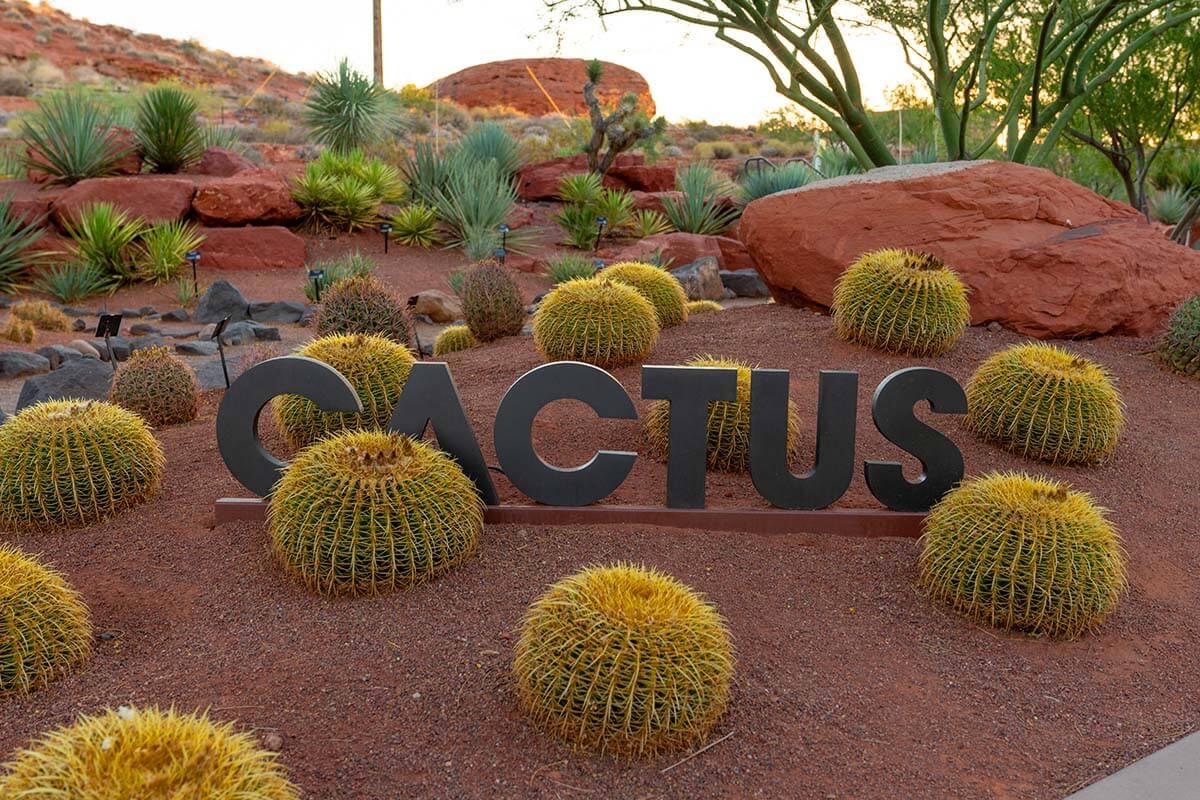 Red Hills Desert Garden in St George Utah