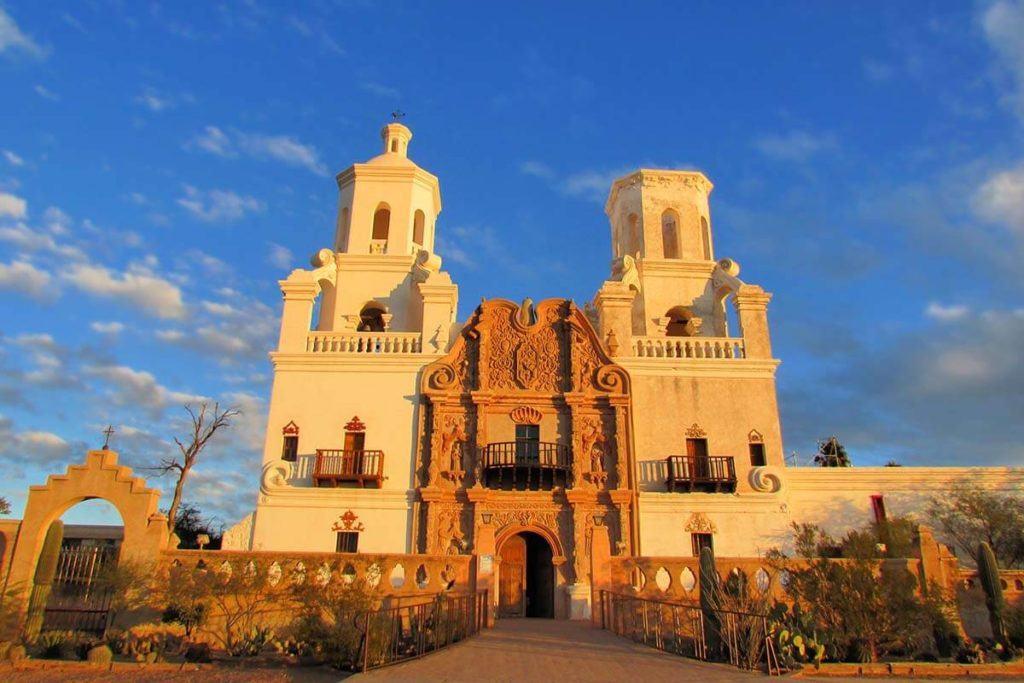 San Xavier del Bac Mission near Tucson Arizona