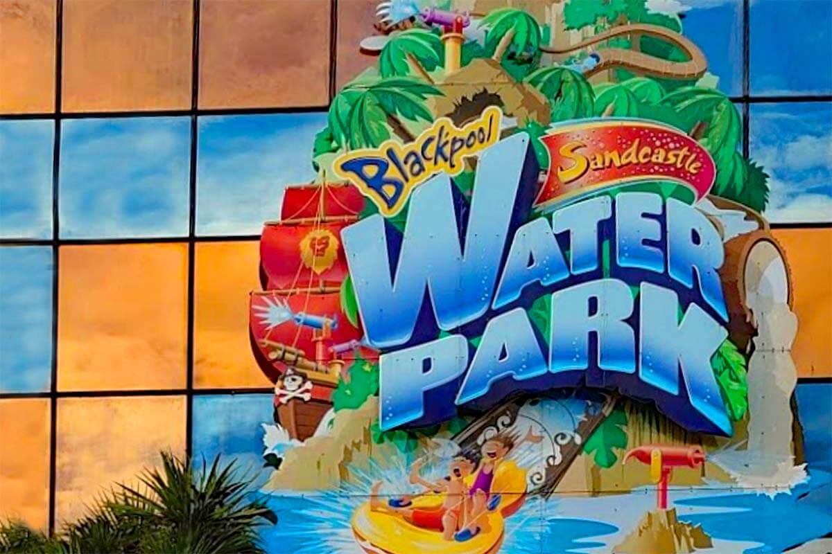 Sandcastle Waterpark is one of the best things to do in Blackpool with kids