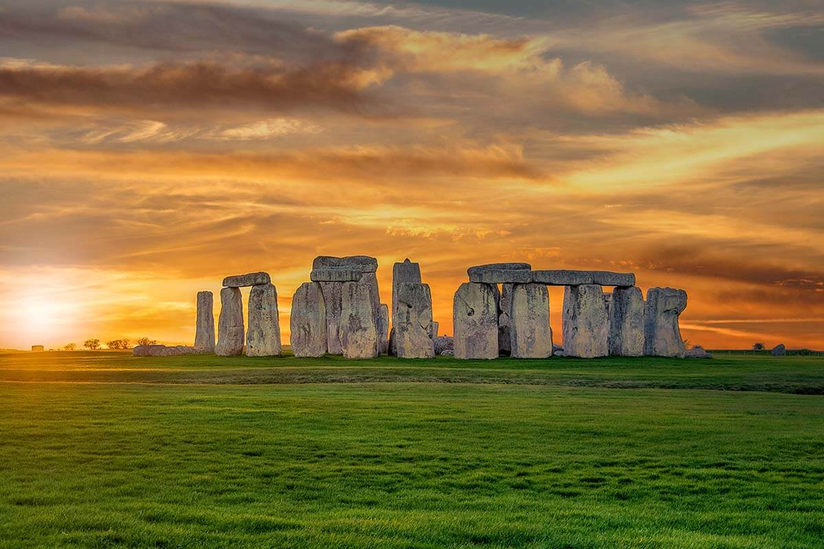 Stonehenge is one of the most popular places to visit near London