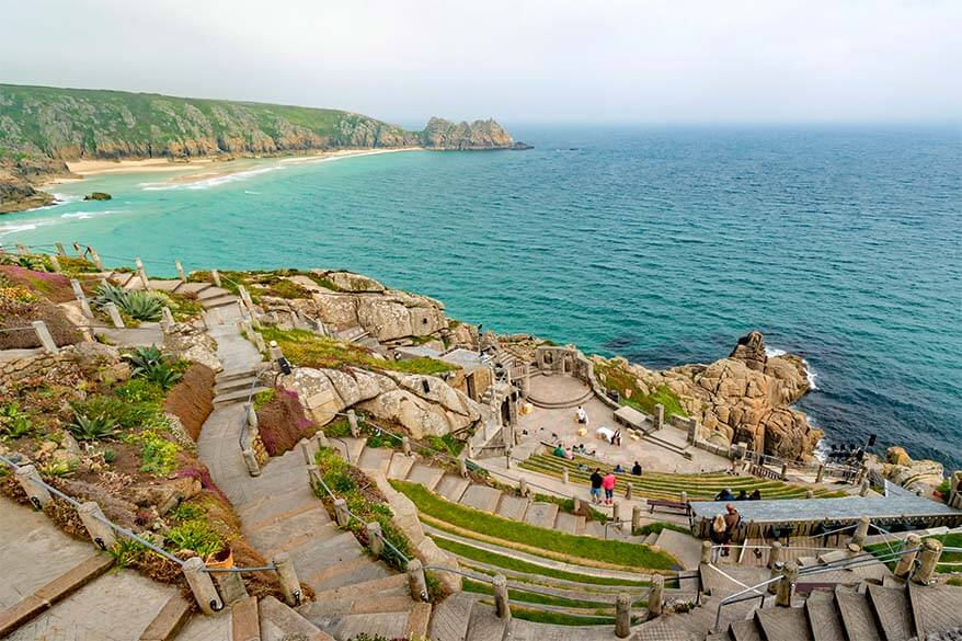 The Minack Theatre is one of the must see places in Cornwall UK