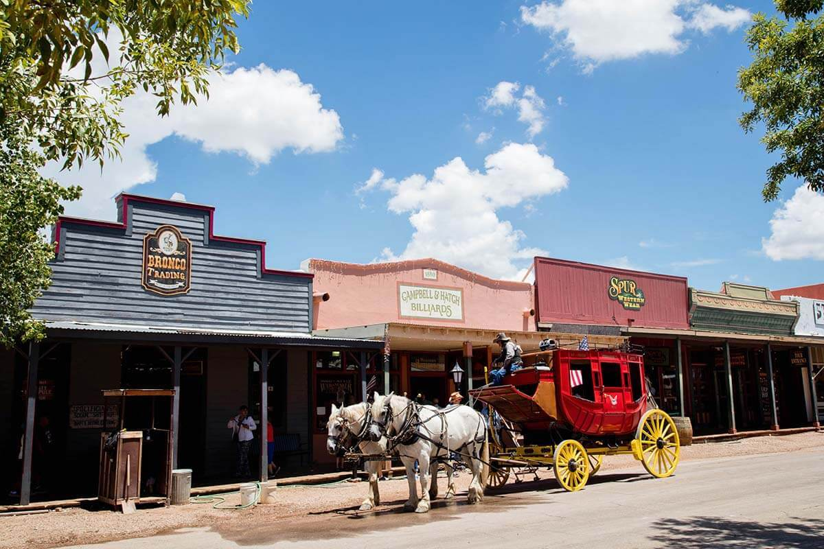 Tombstone is one of the nicest historic towns to visit in Arizona
