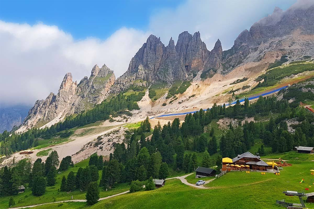 Val Gardena is one of the most beautiful places of the Italian Dolomites