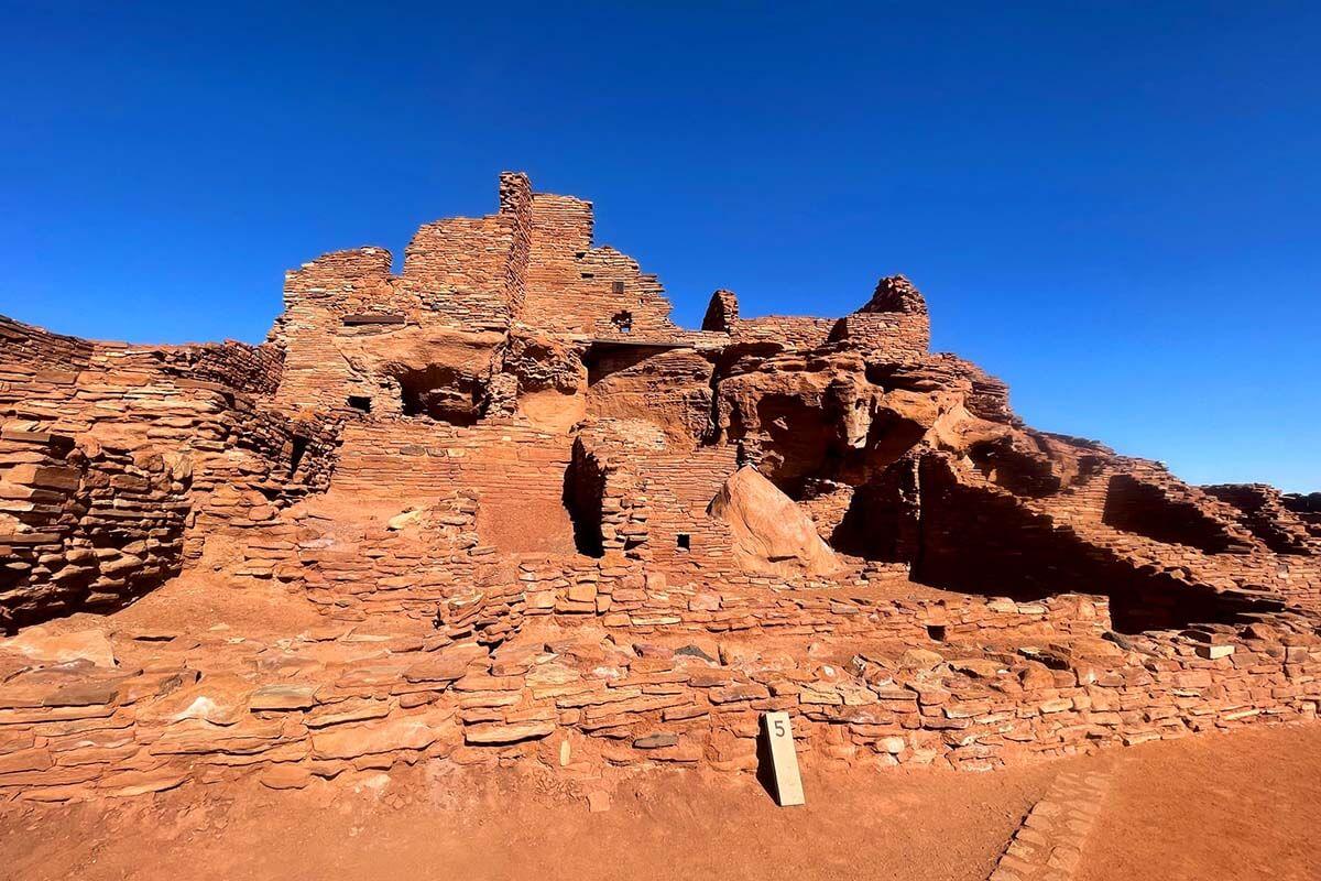 Wupatki National Monument in Arizona
