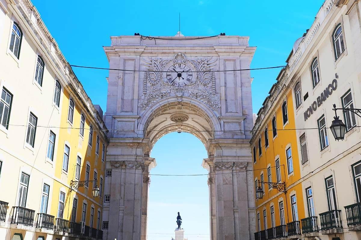 Arco Triunfal da Rua Augusta in Lisbon