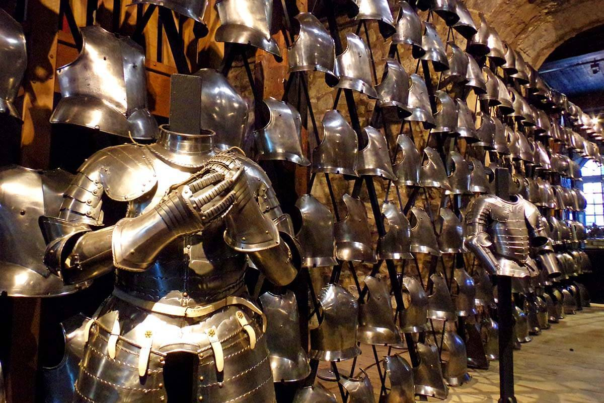 Armory at the Tower of London