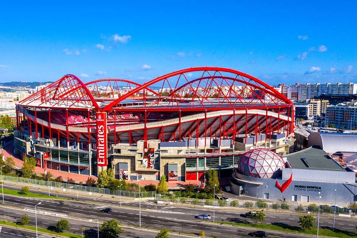 Benfica Stadium in Lisbon