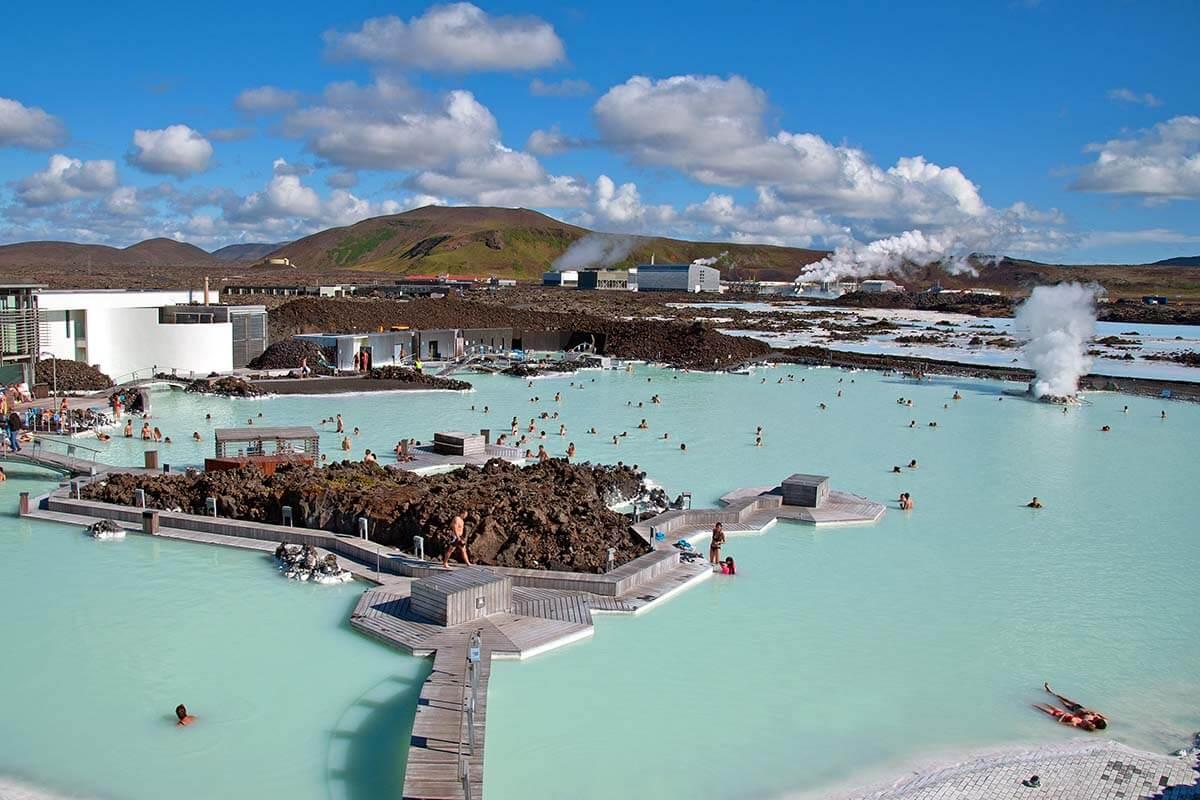 Blue Lagoon geothermal pool in Iceland