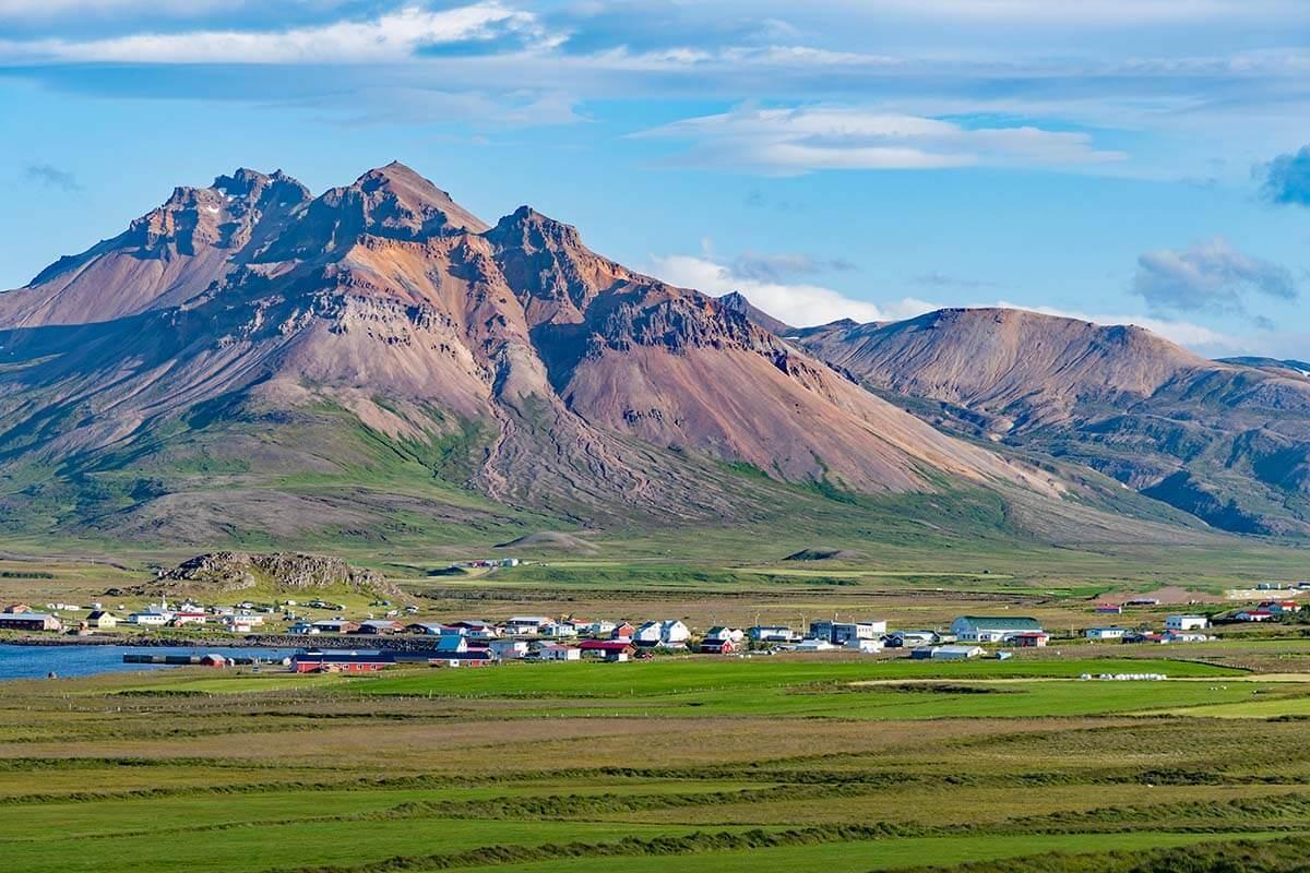 Borgarfjordur Eystri in eastern Iceland