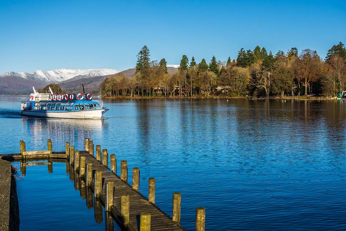 Bowness-on-Windermere boat tour