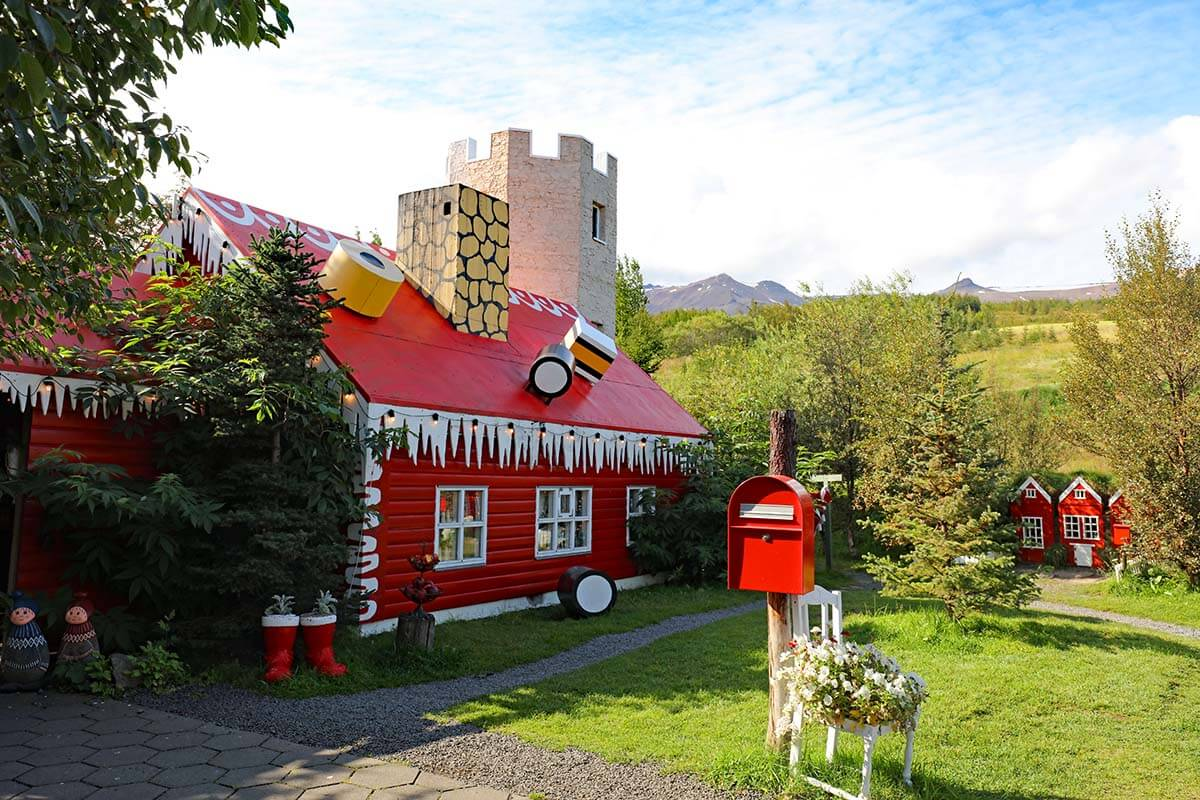 Christmas House in Akureyri Iceland