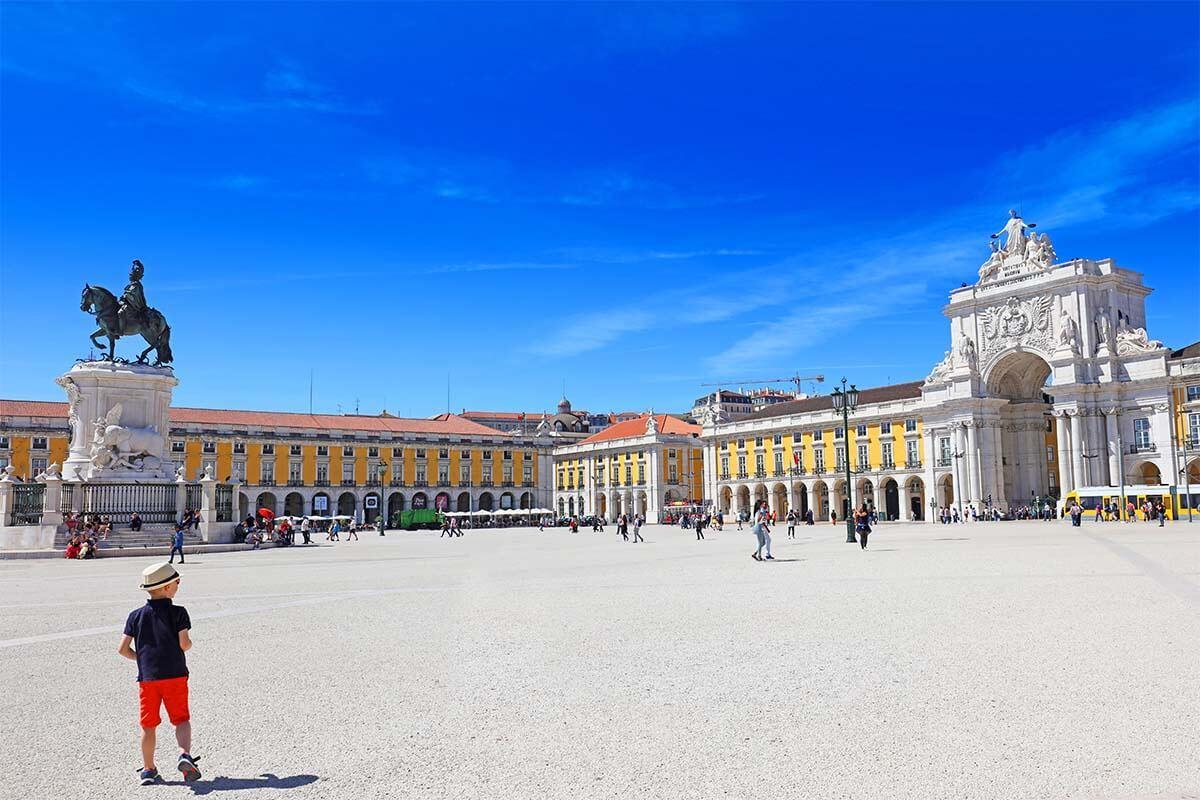 Commerce Square (Praça do Comércio) in Lisbon
