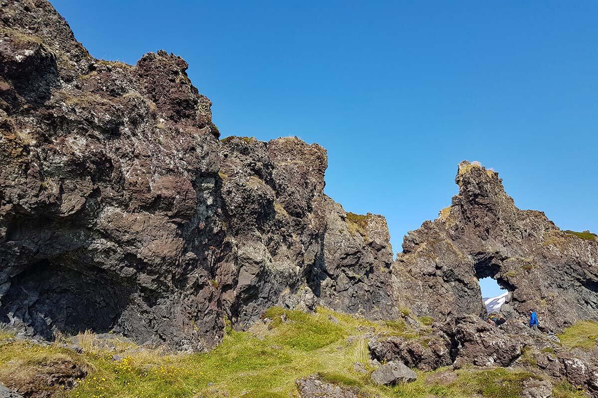 Djupalonssandur in Snaefellsnes Peninsula Iceland