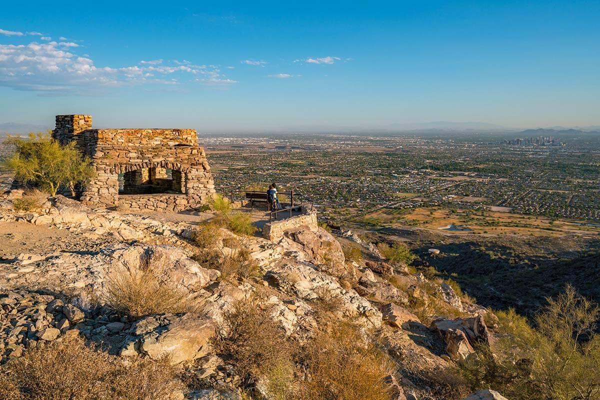 Dobbins Lookout in South Mountain Park Phoenix AZ