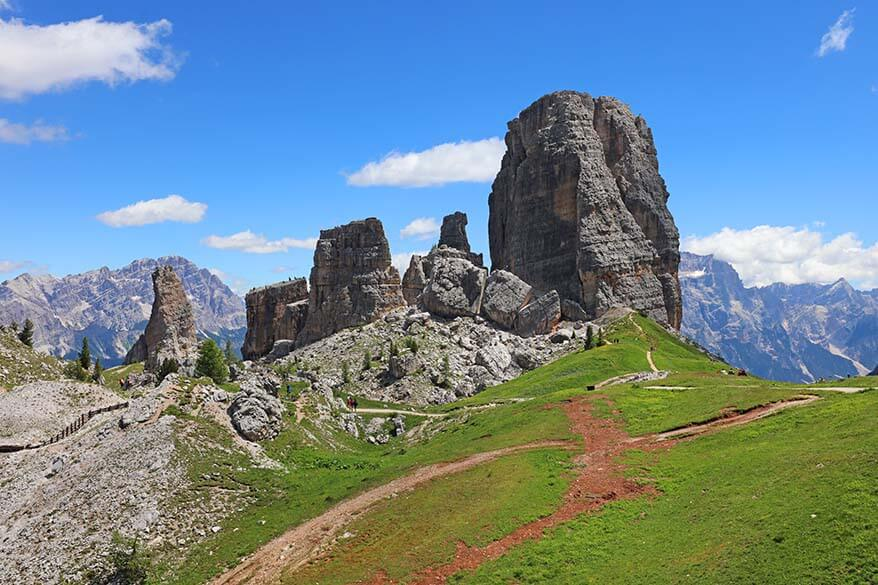 Dolomites hiking - Cinque Torri