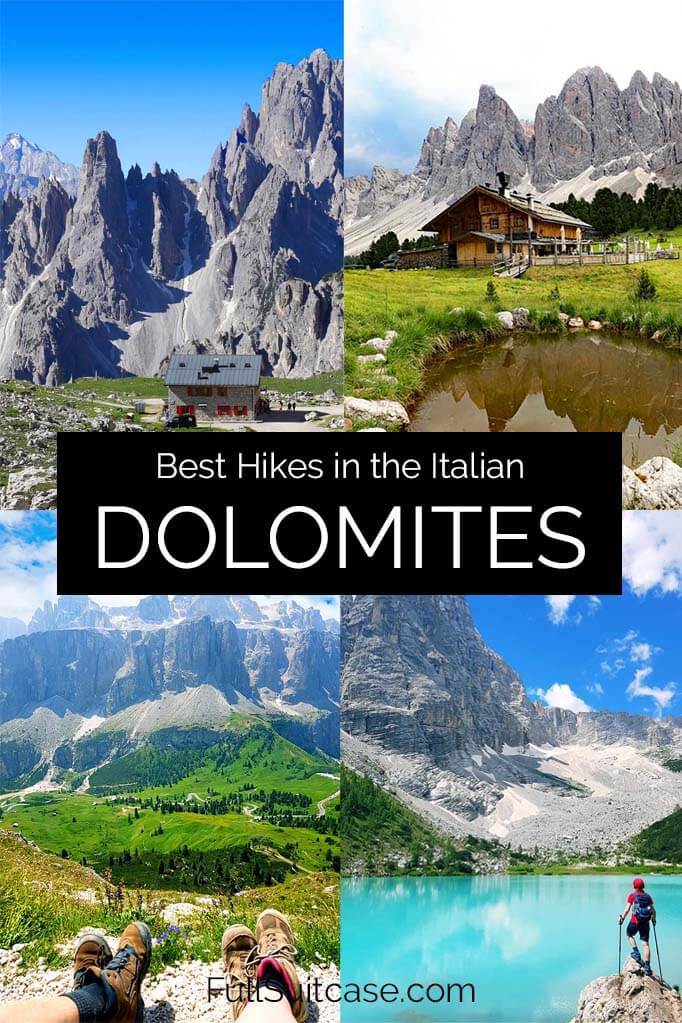 Dolomites hiking guide with the very best hikes