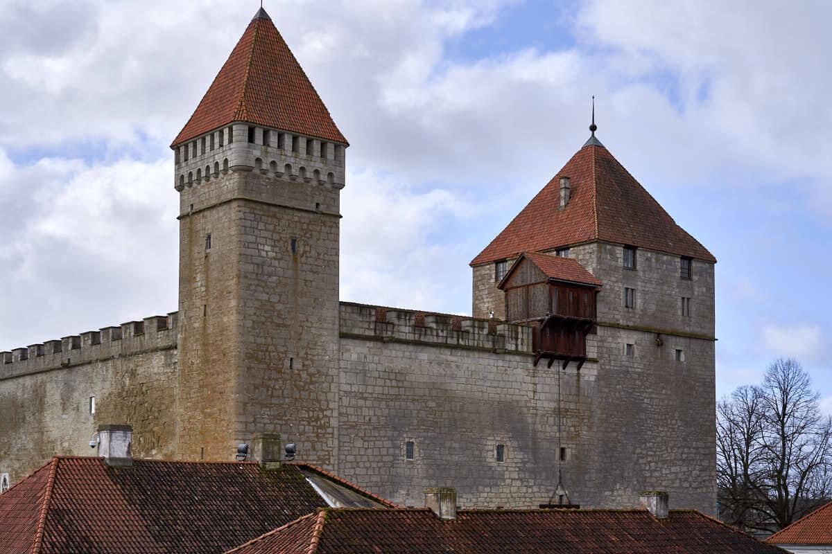 Kuressaare Castle in Estonia