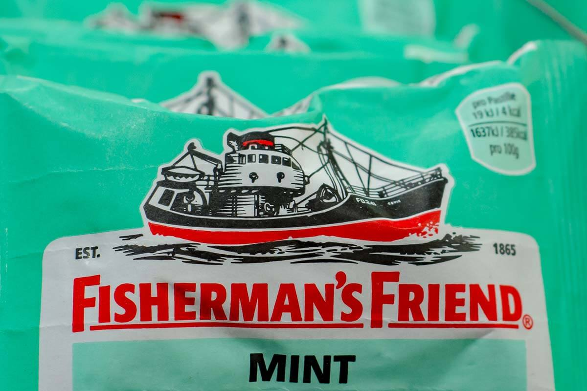 Fisherman's Friend lozenge is originally from Fleetwood UK