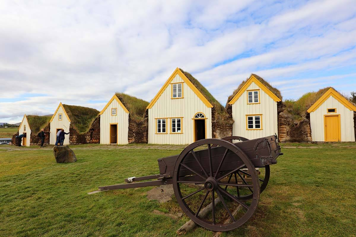 Glaumbaer Farm and Museum in Iceland