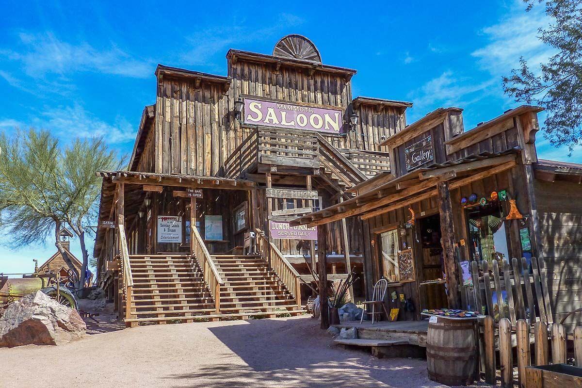 Goldfield Ghost town, Apache Trail, Arizona