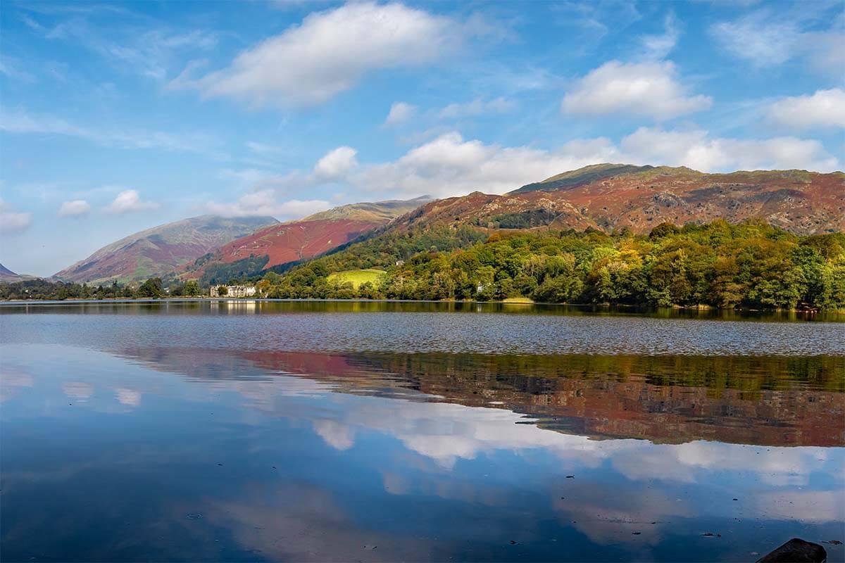 Grasmere Lake District National Park UK