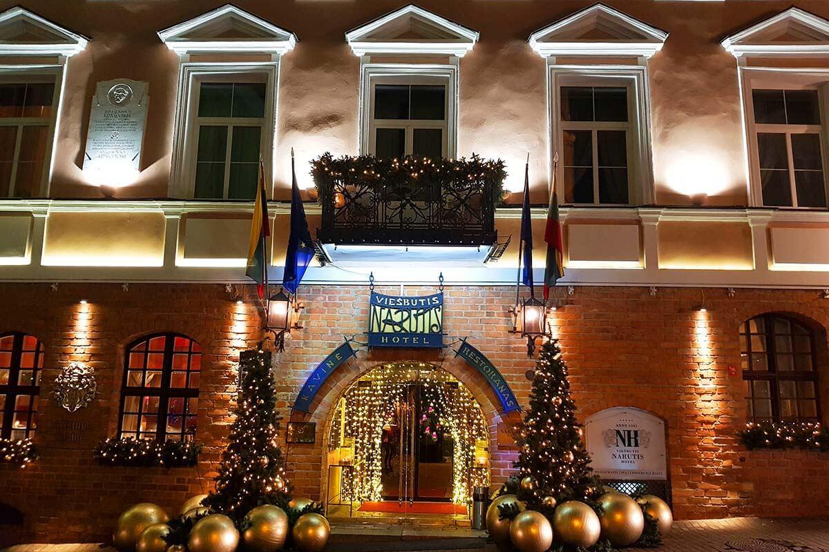 Hotel Narutis in Vilnius Lithuania