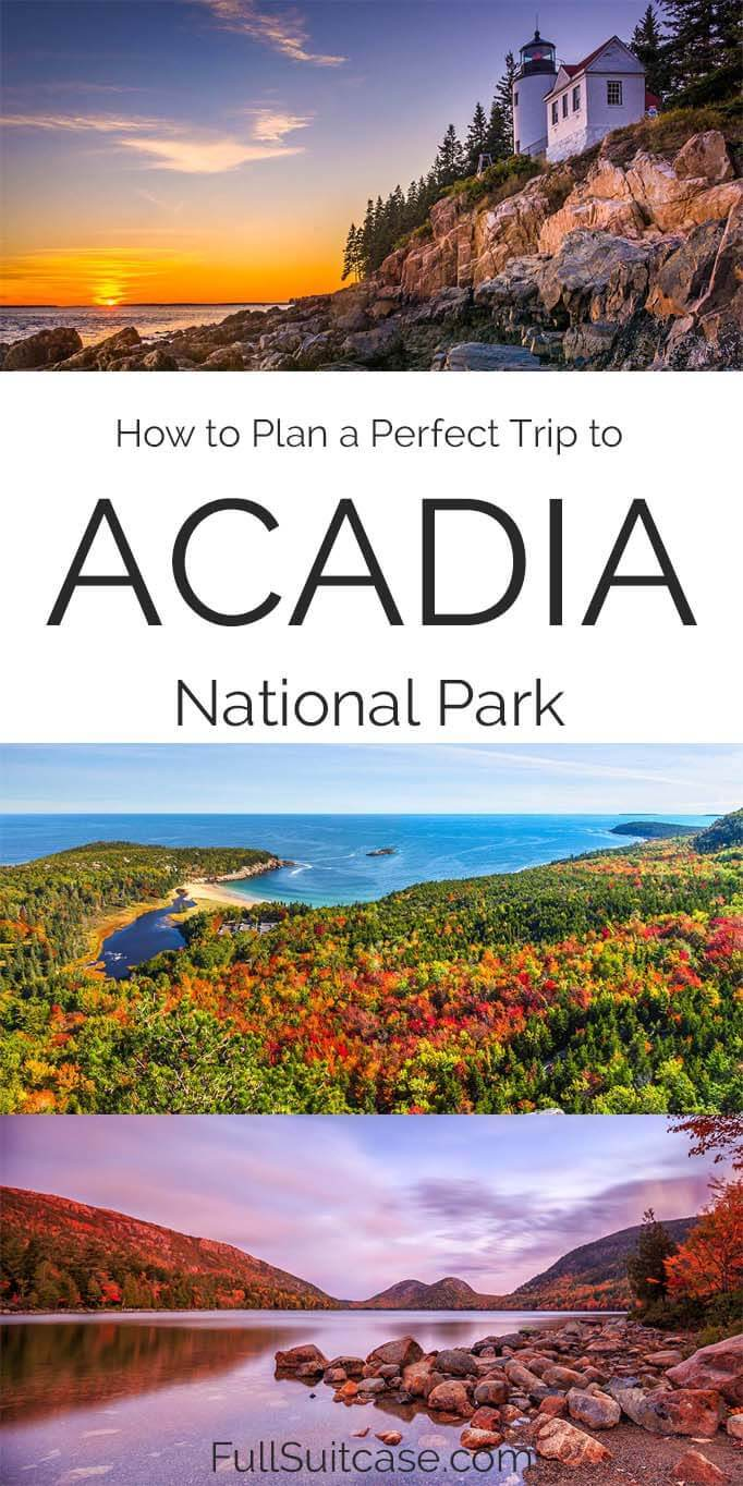 How to plan a trip to Acadia National Park USA